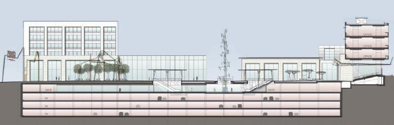 arquitectura ciclo de entrevistas estudio L35 Luisa Badía fotografía Centro comercial Glories seccion proyecto