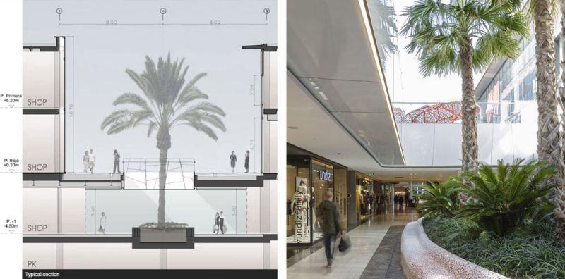 arquitectura ciclo de entrevistas estudio L35 Luisa Badía fotografía Centro comercial Glories seccion