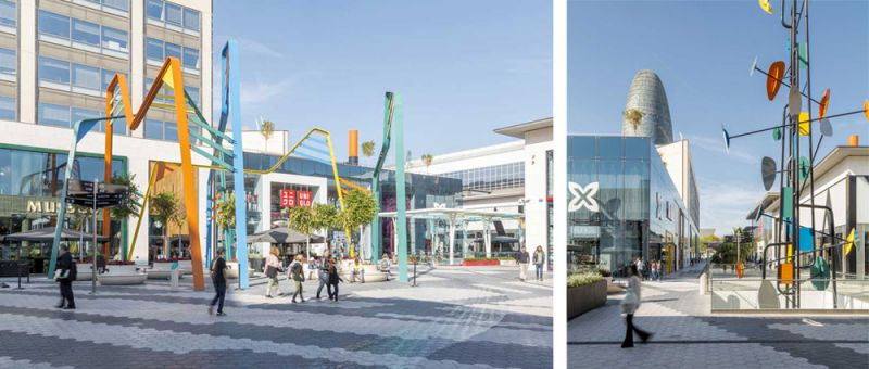 arquitectura ciclo de entrevistas estudio L35 Luisa Badía fotografía Centro comercial Glories fotos plaza
