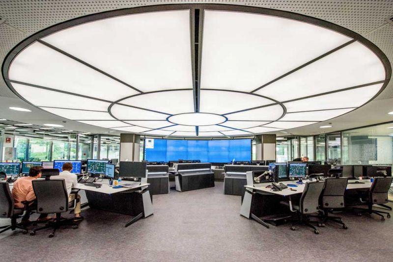 arquitectura Requena y Plaza Dispatching Centro de Control Red Infraestructuras gasistas fotografía centro de mando