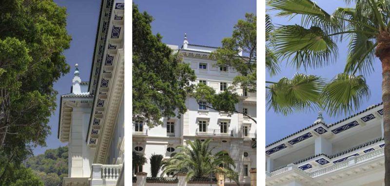 arquitectura estudio segui gran hotel miramar fotografia exterior detalles edificio