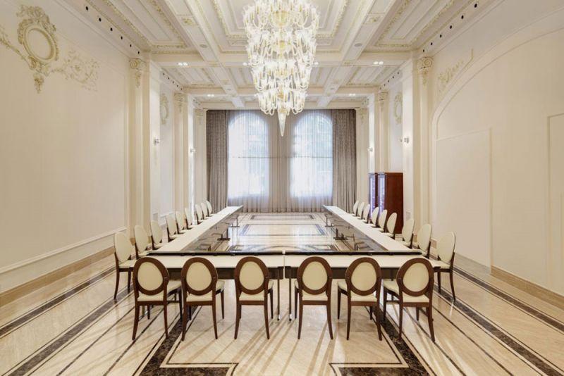 arquitectura estudio segui gran hotel miramar fotografia interior sala reuniones