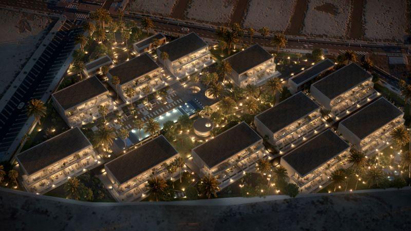arquitectura ciclo de entrevistas exclusivas arquitectura y empresa makin molowny portela residencial nivaria beach I aerea