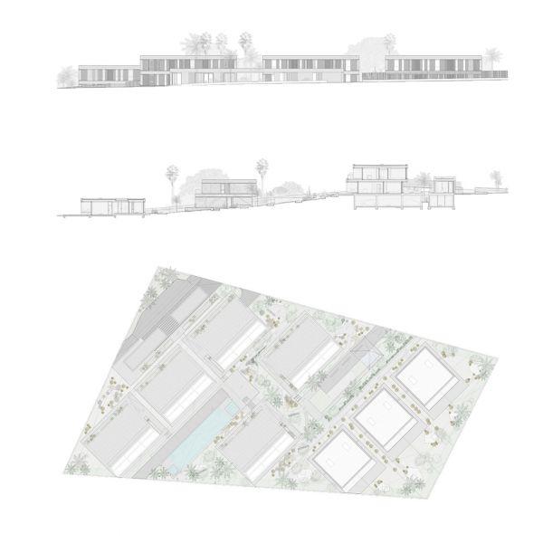 arquitectura ciclo de entrevistas exclusivas arquitectura y empresa makin molowny portela residencial nivaria beach I planos