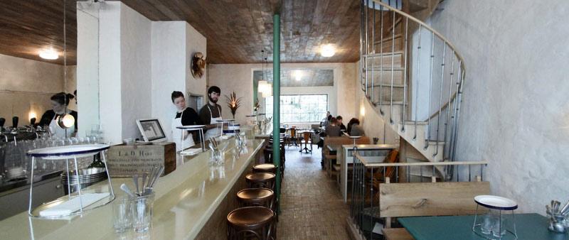arquitectura, diseño, interiorismo, clamato, parís, restaurante, septime