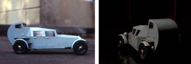arquitectura coches diseñados por arquitectos Adolf Loos Loosmobil