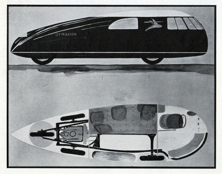 arquitectura coches diseñados por arquitectos fuller dymaxion