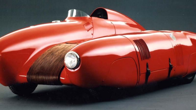 arquitectura coches diseñados por arquitectos Nardi 750 Bisiluro carlo mollino