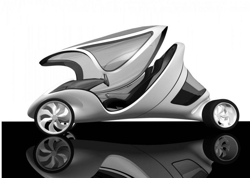 arquitectura coches diseñados por arquitectos zaha hadid  Z-Car I