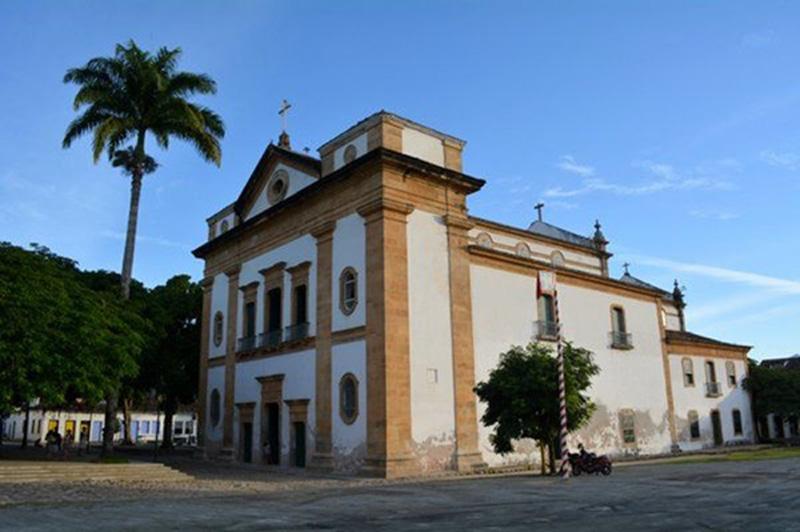 Arquitectura colonial_Paraty_Brasil_ Iglesia de Nossa Senhora dos Remedios