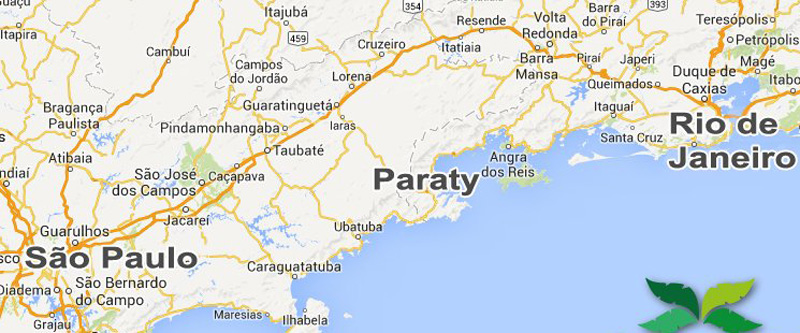 Arquitectura colonial_Paraty mapa