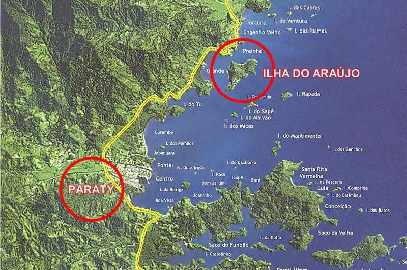 Arquitectura colonial_Paraty_Brasil_mapa atlantico