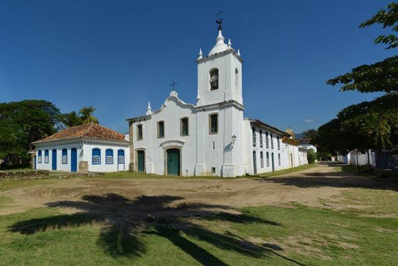 Arquitectura colonial_Paraty_Brasil_Iglesia de Nossa Senhora das Dores