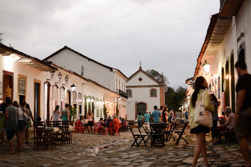 Arquitectura colonial_Paraty_Brasil_ casco antiguo