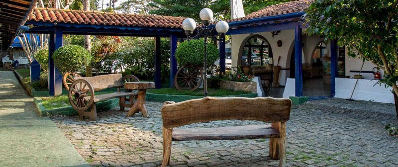 Arquitectura colonial_Paraty_Brasil_ zona de plaza