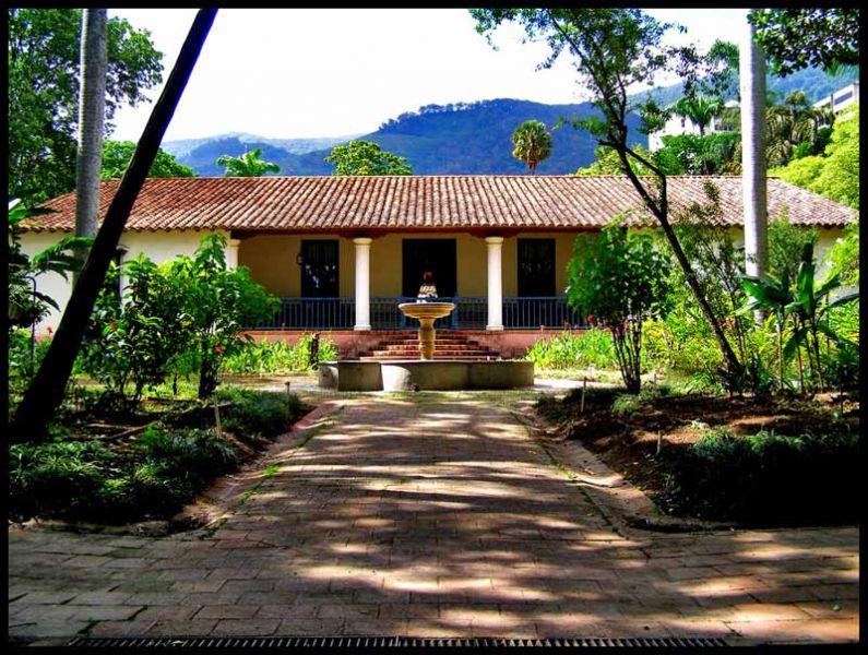 Arquitectura Quinta anauco patio