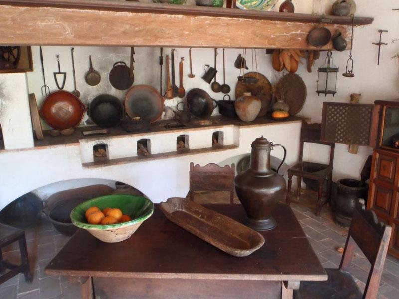 Arquitectura Q Anauco vista de cocina utensilios