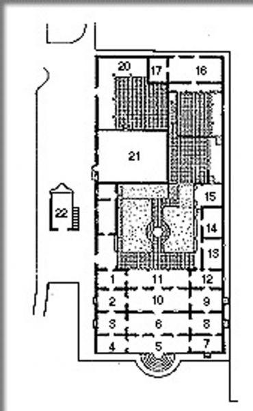 Arquitectura planta quinta anauco