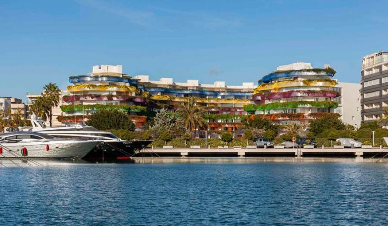 Complejo residencial Boas en Ibiza, Jean Nouvel