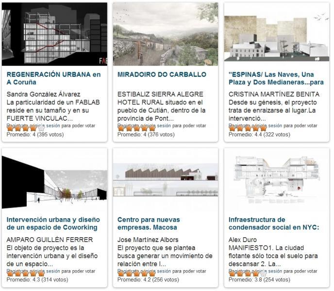 Arquitectura, proyecto, final de carrera…