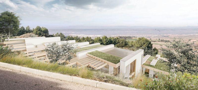 arquitectura concursos de viviendas casa ecologica