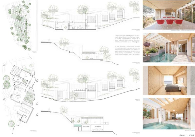 arquitectura concursos de viviendas casa ecologica de paja panel 2