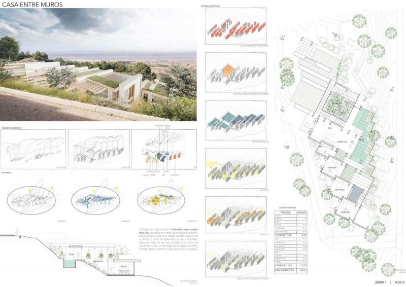 arquitectura concursos de viviendas casa ecologica de paja panel 1