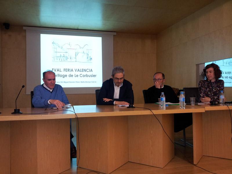 Conferencia de arquitectura fval feria valencia l - Trabajo arquitecto valencia ...