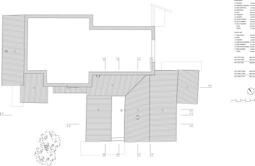 arquitectura_consolacion_hotel_Planta cubierta