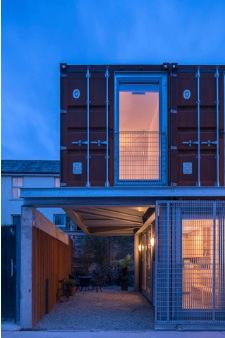 arquitectura_Container House_garaje