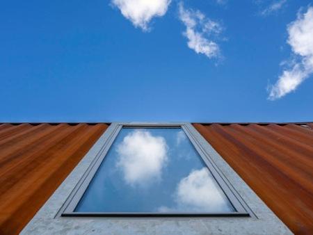 arquitectura_Container House_fachada detalle