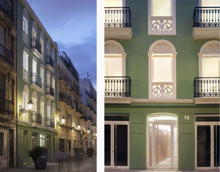 Arquitectura y Empresa Designable Vivienda Colectiva Valencia