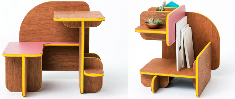 arquitectura, arquitecto, diseño, design, muebles, mobiliario, furniture, multifuncional, polivalente, madera