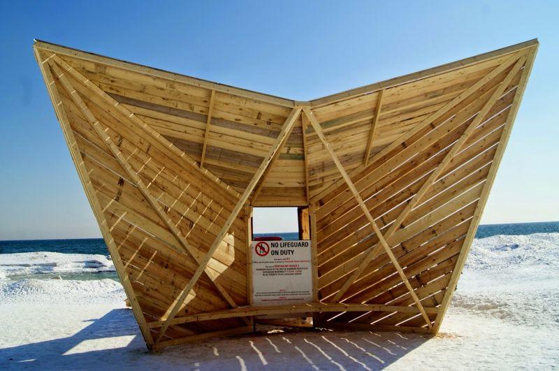 arquitectura_diseño en madera_Driftwood Throne