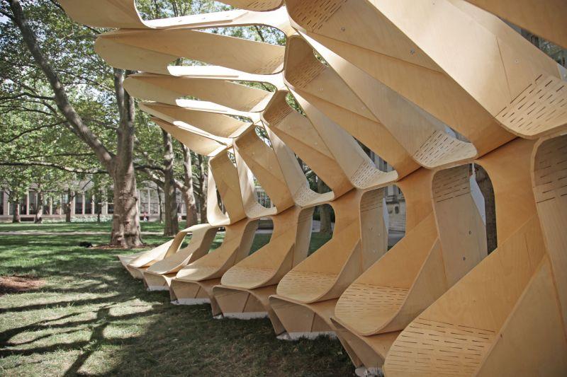 arquitectura_diseño en madera_Kerf pavilion