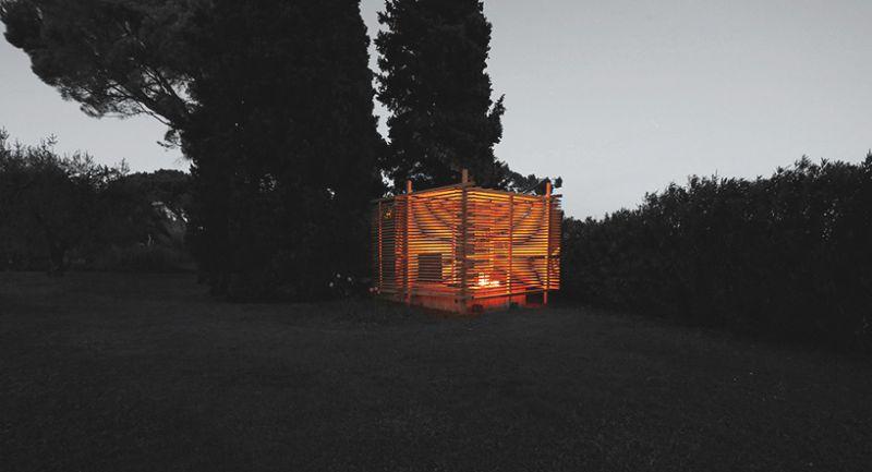 arquitectura_diseño en madera_Tea pavilion Italia
