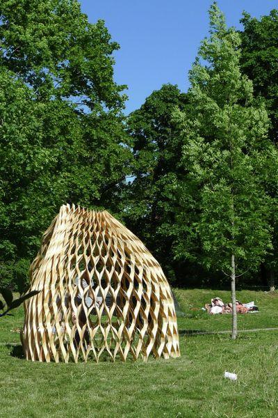 arquitectura_diseño en madera_Wood pavilion