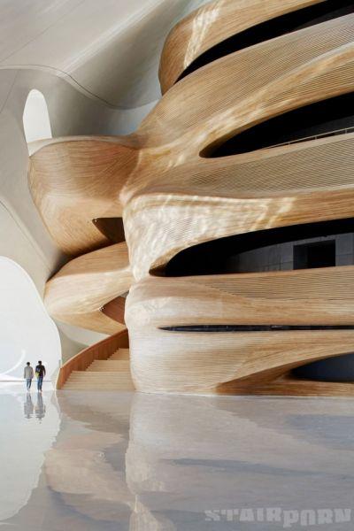 arquitectura_diseño_escaleras de madera_CURVACEOUS WOOD