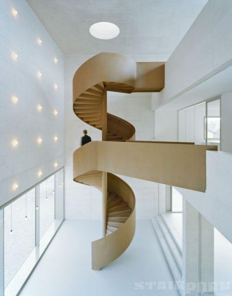 arquitectura_diseño_escaleras de madera_F M B ARCHITEKTEN