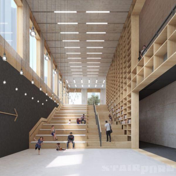 arquitectura_diseño_escaleras de madera_MECANOO