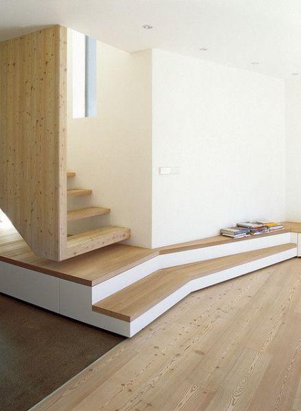 arquitectura_diseño_escaleras de madera_Tetris house