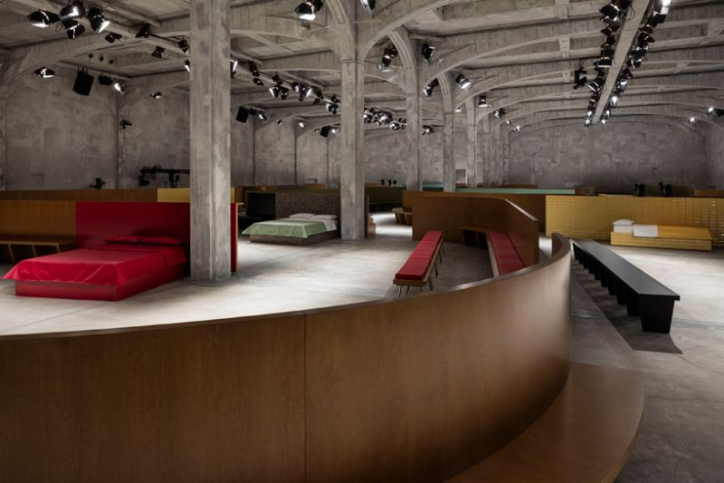 arquitectura_diseño_Pradas's show_OMA_interior 10_Alberto Moncada