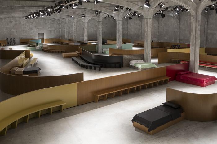 arquitectura_diseño_Pradas's show_OMA_interior 5_Agostino Osio_OMA