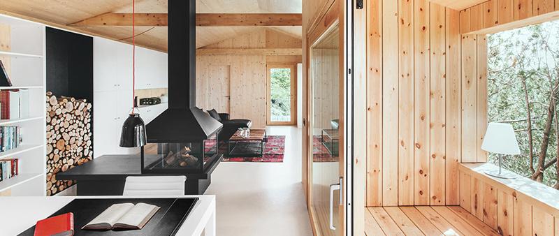 Cabana En La Montana Eficiencia Y Ecologia Por Dom Arquitectura