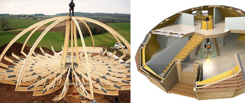 arquitectura, sostenible, diseño, ecológico, dome, domespace, solaleya, Patrick Marsilli