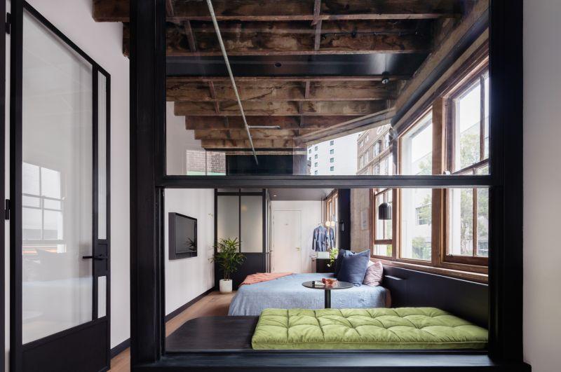 arquitectura_Paramount House Hotel_materiales