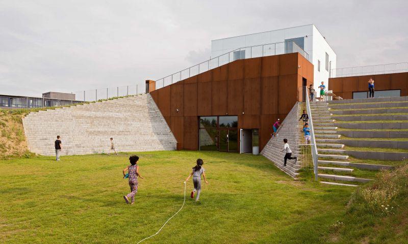 arquitectura_Dorte Mandrup_ Activity Centre, Sønderparken
