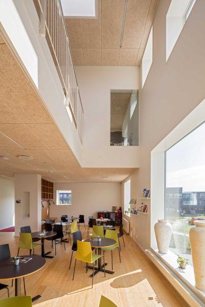 arquitectura_Dorte Mandrup_ Activity Centre, Sønderparken_interior