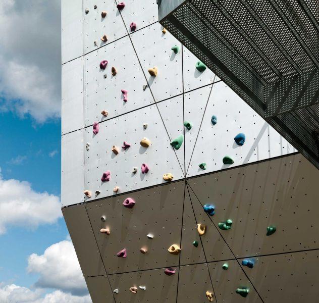arquitectura_Dorte Mandrup_Community Centre Herstedlund_rocódromo