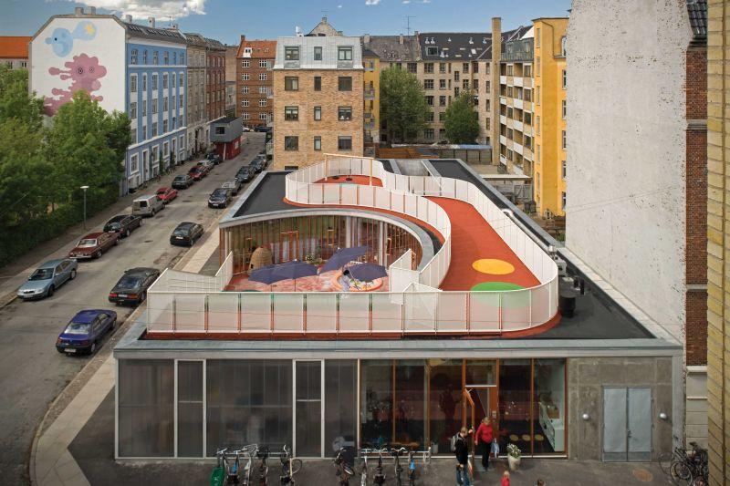 arquitectura_Dorte Mandrup_Day-care Centre, Skanderborggade